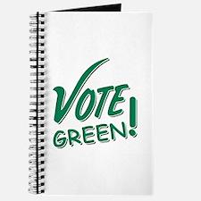 """""""Vote Green"""" Journal"""