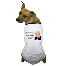Winston Churchill 3 Dog T-Shirt
