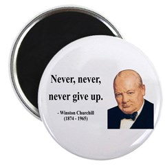 Winston Churchill 3 Magnet