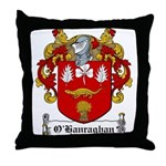 O'Hanraghan Family Crest Throw Pillow