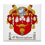 O'Hanraghan Family Crest Tile Coaster