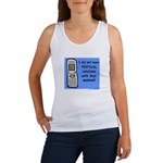 i did NOT have TEXTUAL relations Women's Tank Top