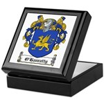 O'Hanratty Family Crest Keepsake Box