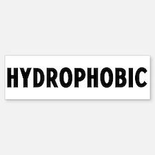 hydrophobic Bumper Bumper Bumper Sticker