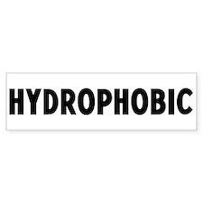 hydrophobic Bumper Bumper Sticker