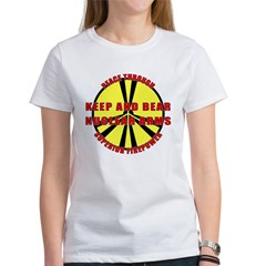 Peace Through Nuclear Weapons Tee