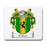 O'Hara Family Crest Mousepad