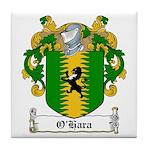 O'Hara Family Crest Tile Coaster