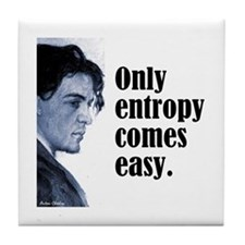 "Chekhov ""Entropy"" Tile Coaster"