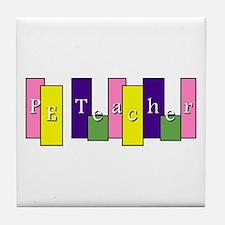 PE Teacher Tile Coaster