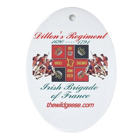 Dillon's Regiment - Keepsake (Oval)