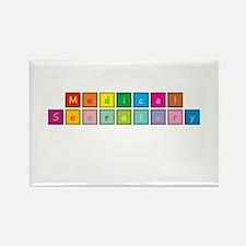 Medical Secretary Rectangle Magnet (10 pack)