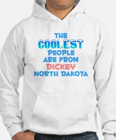 Coolest: Dickey, ND Hoodie