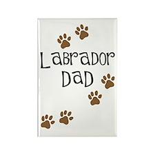 Labrador Dad Rectangle Magnet