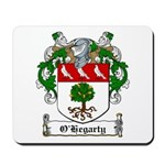 O'Hegarty Family Crest Mousepad