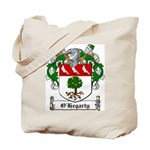 O'Hegarty Family Crest Tote Bag