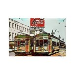 New Orleans Themed Rectangle Magnet