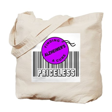 ALZHEIMER'S FINDING A CURE Tote Bag