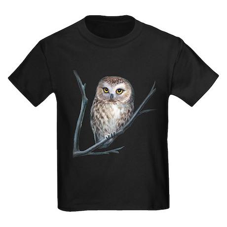 little owl Kids Dark T-Shirt