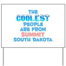 Coolest: Summit, SD Yard Sign