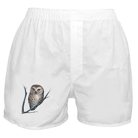 little owl Boxer Shorts