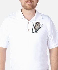 little owl Golf Shirt