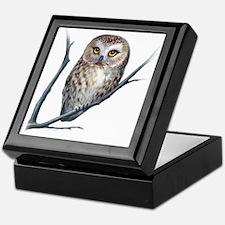 little owl Keepsake Box