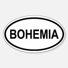 Bohemia Oval Decal