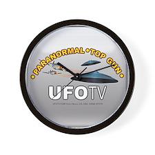 UFOTV Studios Paranormal Top Gun Wall Clock