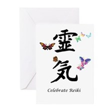 Celebrate Reiki Greeting Cards (Pk of 10)