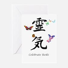 Celebrate Reiki Greeting Cards (Pk of 10)