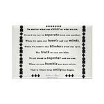 Unity Poem Rectangle Magnet (100 pack)