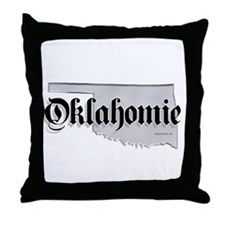 Oklahomie Throw Pillow