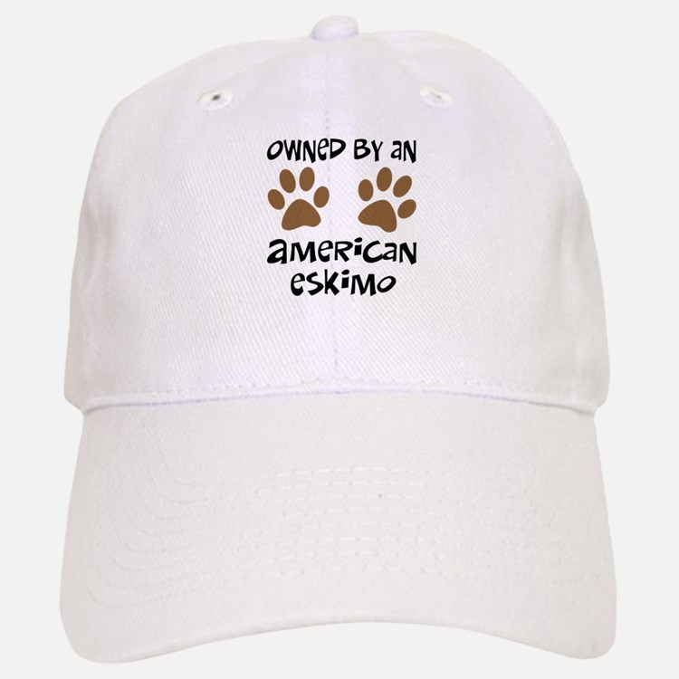Owned By An American Eskimo Baseball Baseball Cap