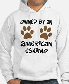 Owned By An American Eskimo Hoodie