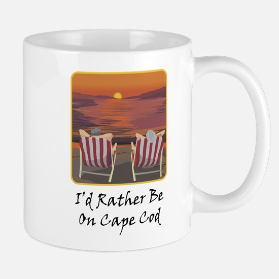 I'd Rather Be At Cape Cod Mug