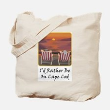 I'd Rather Be At Cape Cod Tote Bag