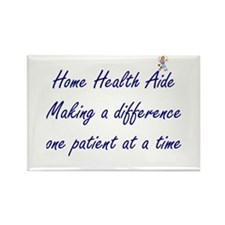 Home Health Aide Rectangle Magnet (10 pack)