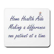 Home Health Aide Mousepad
