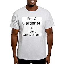 Corny Jokes Ash Grey T-Shirt