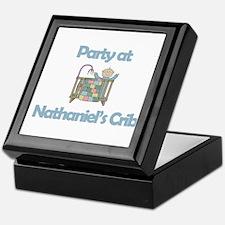 Party at Nathaniel's Crib Keepsake Box