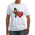 Masonic Valentine/St. Pats Day Fitted T-Shirt