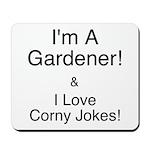 Corny Jokes Mousepad