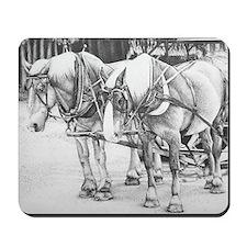 Horse Drawing Mousepad