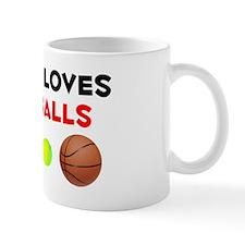 Loves Jairo's Balls (W) Coffee Mug