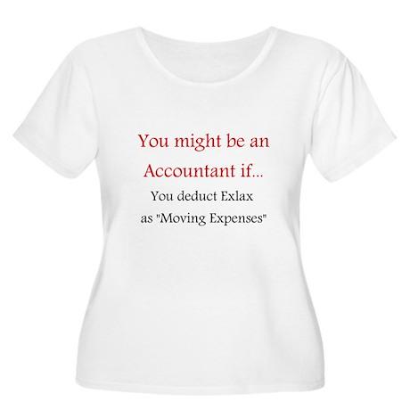 Accountant Women's Plus Size Scoop Neck T-Shirt