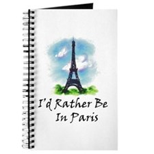 I'd Rather Be In Paris Journal