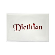 Dietitian Rectangle Magnet (10 pack)