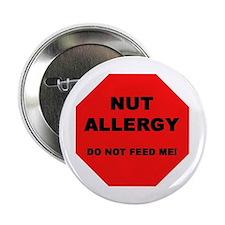 """Unique Allergic to dairy 2.25"""" Button"""