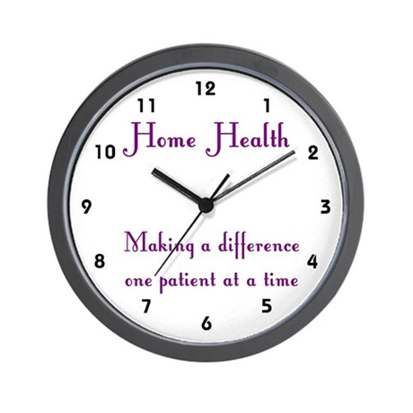Home Health Wall Clock Wall Clock